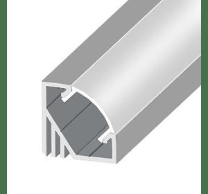 LED профіль (кутовий) 1м комплект.