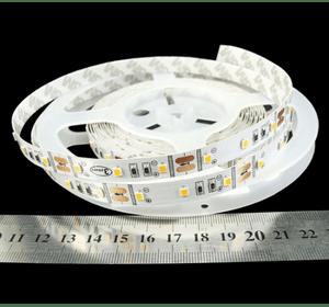 Cтрічка світлодіодна smd 2835, IP33, 60 LED/метр (Упаковка 5м)  Біле Тепле