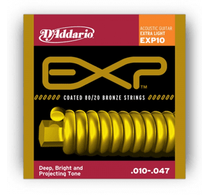 D`ADDARIO EXP10 EXP 80/20 BRONZE EXTRA LIGHT 10-47
