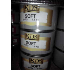 Шпатлівка KDS SOFT putty бежевий 0,9 кг
