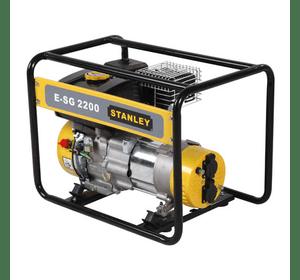 E_SG2200 Бензиновый генератор однофазный Stanley 2 кВт, бак 3,5 л, cинхронный, 4 такта, 230 В, вес 34 кг.