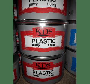 Шпатлівка KDS PLASTIC putty чорний 0,2 кг