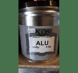 Шпатлёвка автомобильная KDS Alu, 4 кг