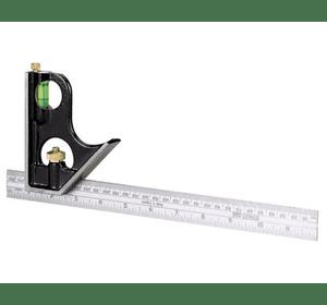 0-46-151 Угольник комбинированный STANLEY, L=300 мм