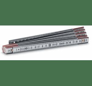 """0-35-311, 0-35-312 Метр складной Stanley """"Gravemat"""" металлический с нейлоновыми фиксаторами, 1 и 2 м длиной, ширина 15 мм"""