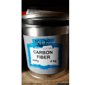Шпатлёвка автомобильная KDS Carbon fiber, 4.0 кг
