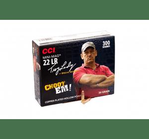 Патрон нарезной CCI 22LR Mini-Mag CPHP 2,33гр
