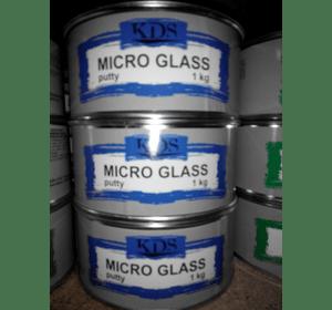 Шпатлівка KDS MICRO GLASS putty зелений 1 кг