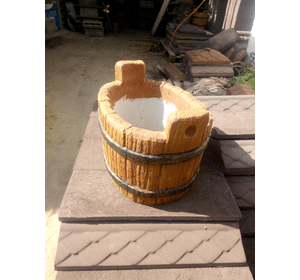 кошик з бетону