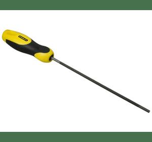 0-22-491 Напильник круглый STANLEY с ручкой, для заточки пильных цепей, d=4 мм, L=200 мм