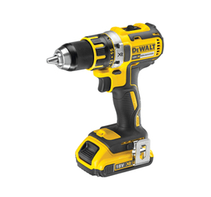 Акция DeWALT Hot-30: DCD790D2 Безщёточная дрель/шуруповёрт 18 В, XR Li-Ion, 2 акк. 2.0 А/ч, 0-600/0-2000 об/мин, 60 Нм, з/у, чемодан