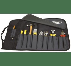 1-93-601 Чехол-скрутка для инструмента Stanley с 12-тью отделениями, нейлоновый, 12 отсеков-карманов, 64 x 38,5 см