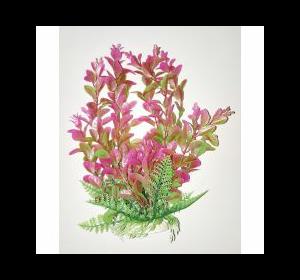 Пластиковое растение для аквариума 094255  , 22-25 см
