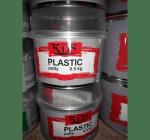 Шпатлівка KDS PLASTIC putty чорний 0,5 кг
