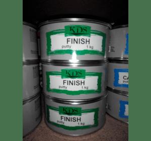 Шпатлівка KDS FINISH putty білий 1,8 кг