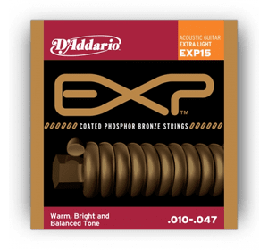 D`ADDARIO EXP15 EXP PHOSPHOR BRONZE EXTRA LIGHT 10-47