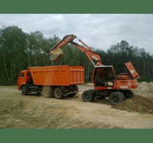 вантажні перевезення піску