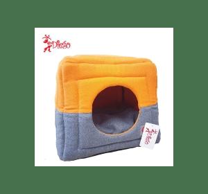 Лежак TM DIEGO оранжево-серый