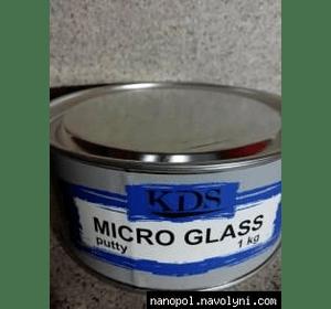 Шпатлёвка KDS MICRO GLASS 1,0 кг, мелкий опт