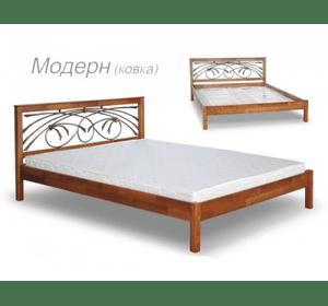 Ліжко Модерн з ковкою