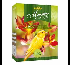 Маэстро корм для канареек и экзотических птиц
