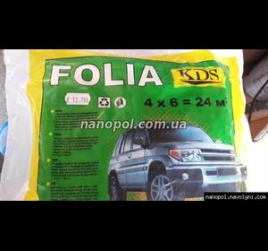 Плівка малярна захисна FOLIA KDS 4*6 м, 7 мкр
