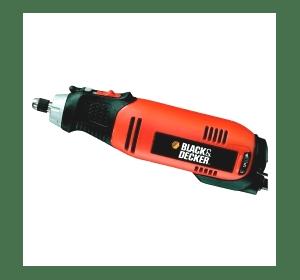 Многофункциональный инструмент Black&Decker RT650KA, 90 Вт, 8 000 - 27 000 об/мин, 0.43 кг