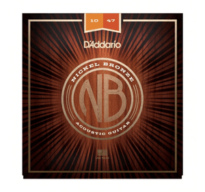 D`ADDARIO NB1047 NICKEL BRONZE EXTRA LIGHT 10-47