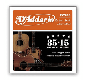 D`ADDARIO EZ900 BRONZE EXTRA LIGHT 10-50