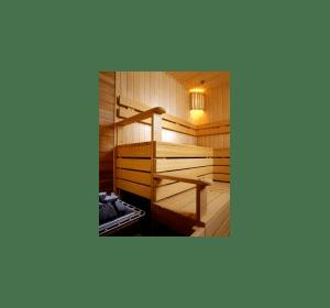Полиці для бані та сауни з деревини липи