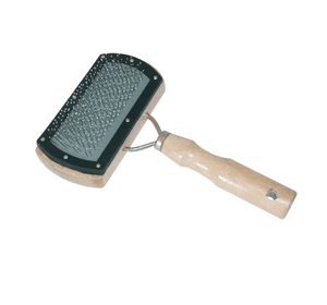 Пуходерка деревянная с напылением