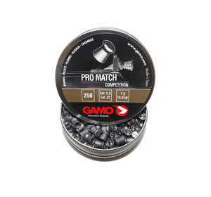Пули для пневматического оружия Gamo PRO Match 5,5 мм. (250шт.)