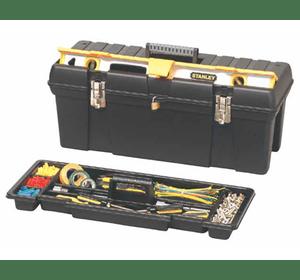 """1-92-850 Ящик для инструмента профессиональный STANLEY, 26"""" (695х272х260мм), пластмассовый с отсеком для хранения уровня"""