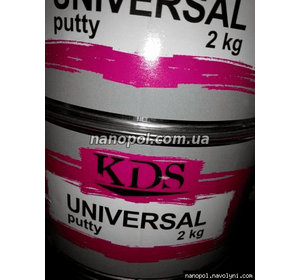ШПАТЛЁВКА УНИВЕРСАЛЬНАЯ KDS UNIVERSAL, 2 кг