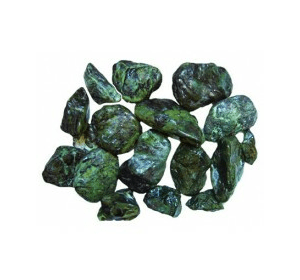 Грунт для аквариума Мрамор Marmo malachite зелёный 10-20мм