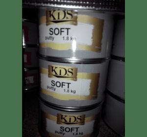 Шпатлівка KDS SOFT putty бежевий 1,8 кг