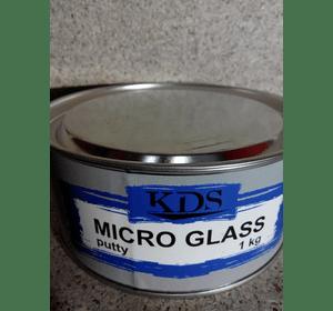 Шпатлівка KDS MICRO GLASS putty зелений 1,8 кг