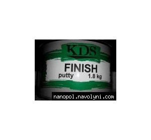 Шпатлёвка автомобильная KDS Finish, 1.8 кг