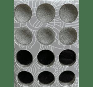 бульйонка чорно-біла