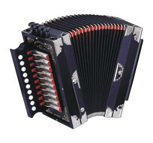Deutsche Harmonika 10/2/IV/4 BLK Гармоника WELTMEISTER