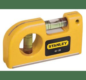 0-42-130 Уровень карманный Stanley, магнитный, 2 капсулы, длина 8.7 см