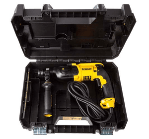 Прокат перфоратора DeWALT D25133, SDS-Plus, 800 Вт, 2.8 Дж, 3 режима, 3 кг