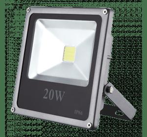 LED прожектор 20W-slim