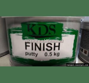 Шпатлёвка автомобильная KDS Finish 0.5 kg мелкий опт
