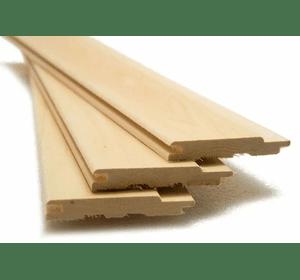 Вагонка з деревини липи