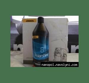 Антиголограмная полировальная паста Mirka polarshine 8 с молекулой лака, 1 L