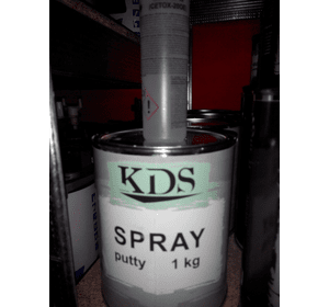 Шпатлівка KDS SPRAY putty білий 1 кг