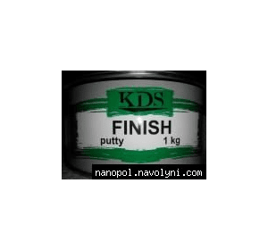 Шпатлёвка автомобильная KDS Finish, 1.0 кг