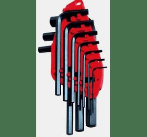 0-69-253 Набор Stanley из 10-ти торцевых шестигранных Г-образных ключей 1,5->10 мм