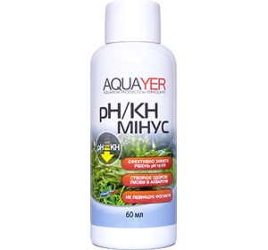 AQUAYER pH/KH минус 60мл
